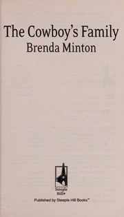 Cover of: The cowboy's family | Brenda Minton