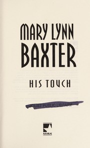 Cover of: His touch | Mary Lynn Baxter