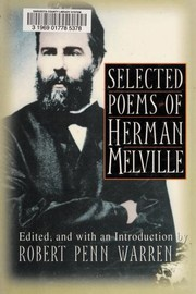 Cover of: Selected poems of Herman Melville | Herman Melville