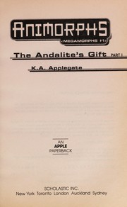 Cover of: Animorphs Megamorphs #1-the Andalite's Gift |