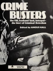 Cover of: The Crime Busters | Angus Hall