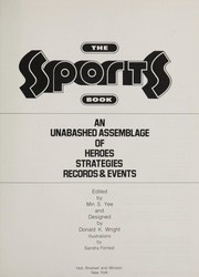 Cover of: The Sports book |