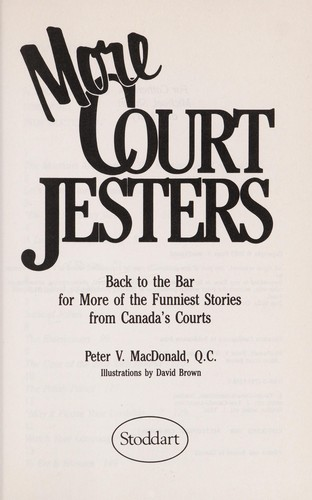 More court jesters by Peter V. MacDonald