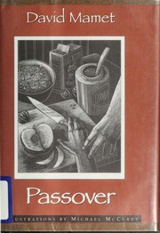 Cover of: Passover