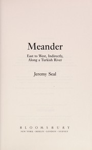Cover of: Meander | Jeremy Seal