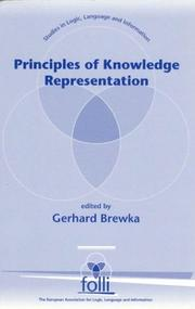 Cover of: Principles of Knowledge Representation | Gerhard Brewka