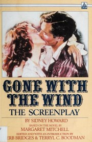 Cover of: Gone with the wind, the screenplay