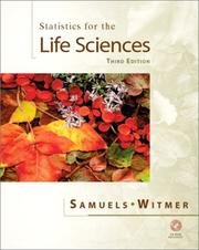 Cover of: Statistics for the life sciences by