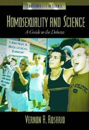 Cover of: Homosexuality and Science