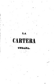 Cover of: La cartera cubana