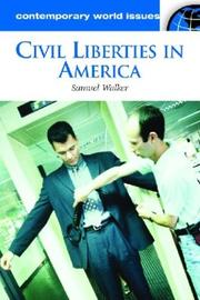 Cover of: Civil Liberties in America: A Reference Handbook (Contemporary World Issues)