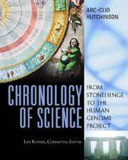 Cover of: Chronology of Science | name missing