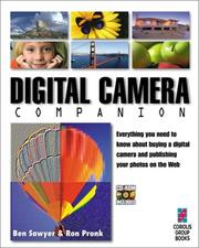 Cover of: Digital camera companion
