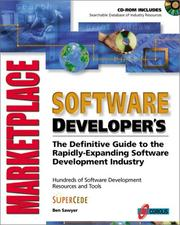 Cover of: Software developer's marketplace