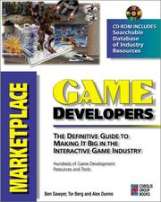 Cover of: Game developer's marketplace
