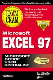 Cover of: Microsoft Excel 97