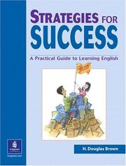Cover of: Strategies for success | H. Douglas Brown