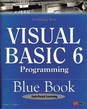 Cover of: Visual Basic 6 programming blue book