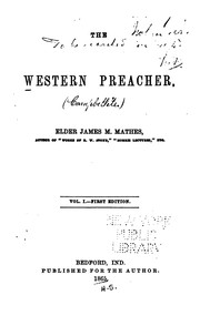 Cover of: The Western Preacher |