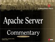 Cover of: Apache server commentary: Guide to Insider's Knowledge on Apache Server Code