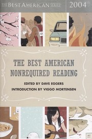 Cover of: The best American nonrequired reading, 2004