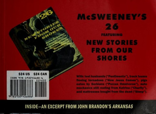 McSweeney's Issue 26 (Mcsweeney's Quarterly Concern) by Dave Eggers