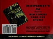 Cover of: McSweeney's Issue 26 (Mcsweeney's Quarterly Concern)