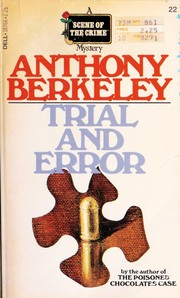 Cover of: Trial and Error | Anthony Berkeley