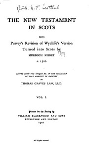 Cover of: Scot. Text S. |