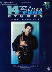 Cover of: 14 Blues & Funk Etudes (for C Instruments) | Bob Mintzer