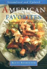 Cover of: American favorites