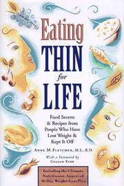 Cover of: Eating thin for life