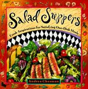 Cover of: Salad suppers | Andrea Chesman