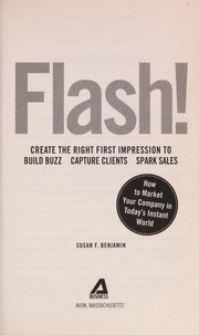Cover of: Flash! | Benjamin, Susan