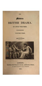 Cover of: The modern British drama |