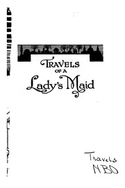 Cover of: Travels of a lady