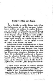 Cover of: Gedichte von Johann Christian Günther
