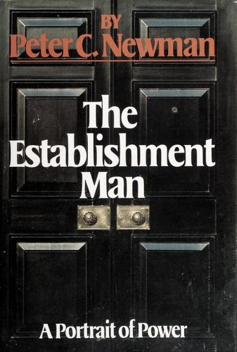 The establishment man by Peter Charles Newman