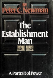 Cover of: The establishment man | Peter Charles Newman