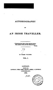 Cover of: Autobiography of an Irish traveller