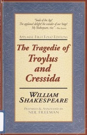 Cover of: The tragedie of Troylus and Cressida | William Shakespeare