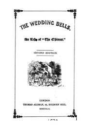 Cover of: The wedding bells, an echo of