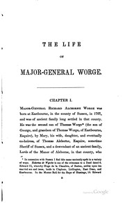 Cover of: The life of Major-General Worge, colonel of the 86th regiment of foot, and governor of Senegal, in Africa | George Duke