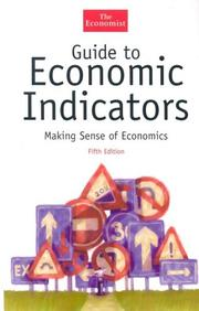 Cover of: The Economist guide to economic indicators |