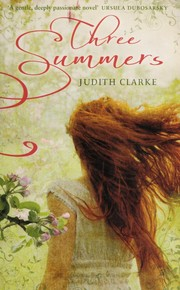 Cover of: Three Summers | Judith Clarke