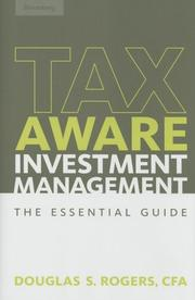 Cover of: Tax-aware investment management | Douglas S. Rogers