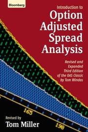 Cover of: Introduction to Option-Adjusted Spread Analysis | Tom Miller