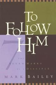Cover of: To follow Him