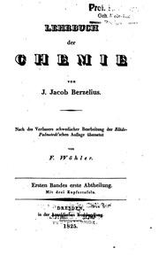 Cover of: Lehrbuch der Chemie