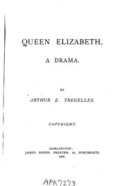 Cover of: Queen Elizabeth: A Drama |